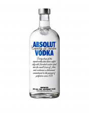 Absolut vodka liter