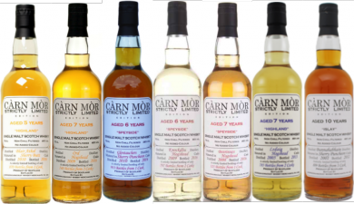 Carn Mor Glen Garioch 2011 6 years old single malt whisky