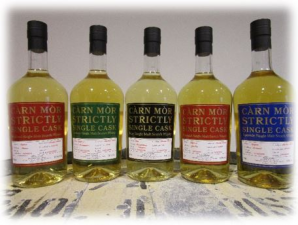 Carn Mor strictly single cask Ben Nevis 2015 4 years old single malt whisky