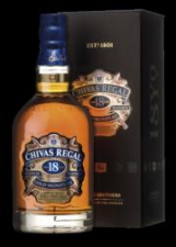 Chivas Regal 18 years old blended whisky