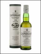 Laphroaig 10 years old single malt whisky