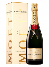 Moët & Chandon brut in kadoverpakking