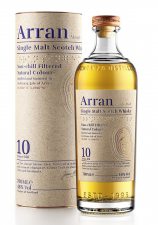 The Arran 10 years old single malt whisky