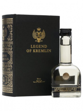 The legend of kremlin premium vodka miniatuur geschenkverpakking