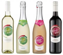 Vini vici alcoholvrije wijn; rood