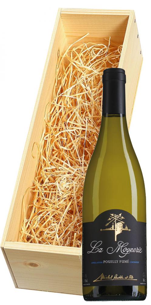 Wijnkist met Michel Redde Pouilly-Fumé La Moynerie