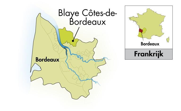 Château Cap Saint Martin Blaye Côtes de Bordeaux Le Cabernet d'En Face