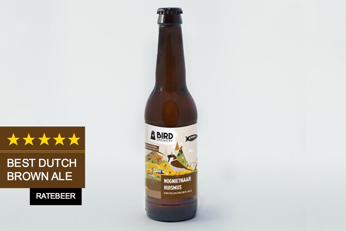 Bird brewery nognietnaar huismus american brown ale
