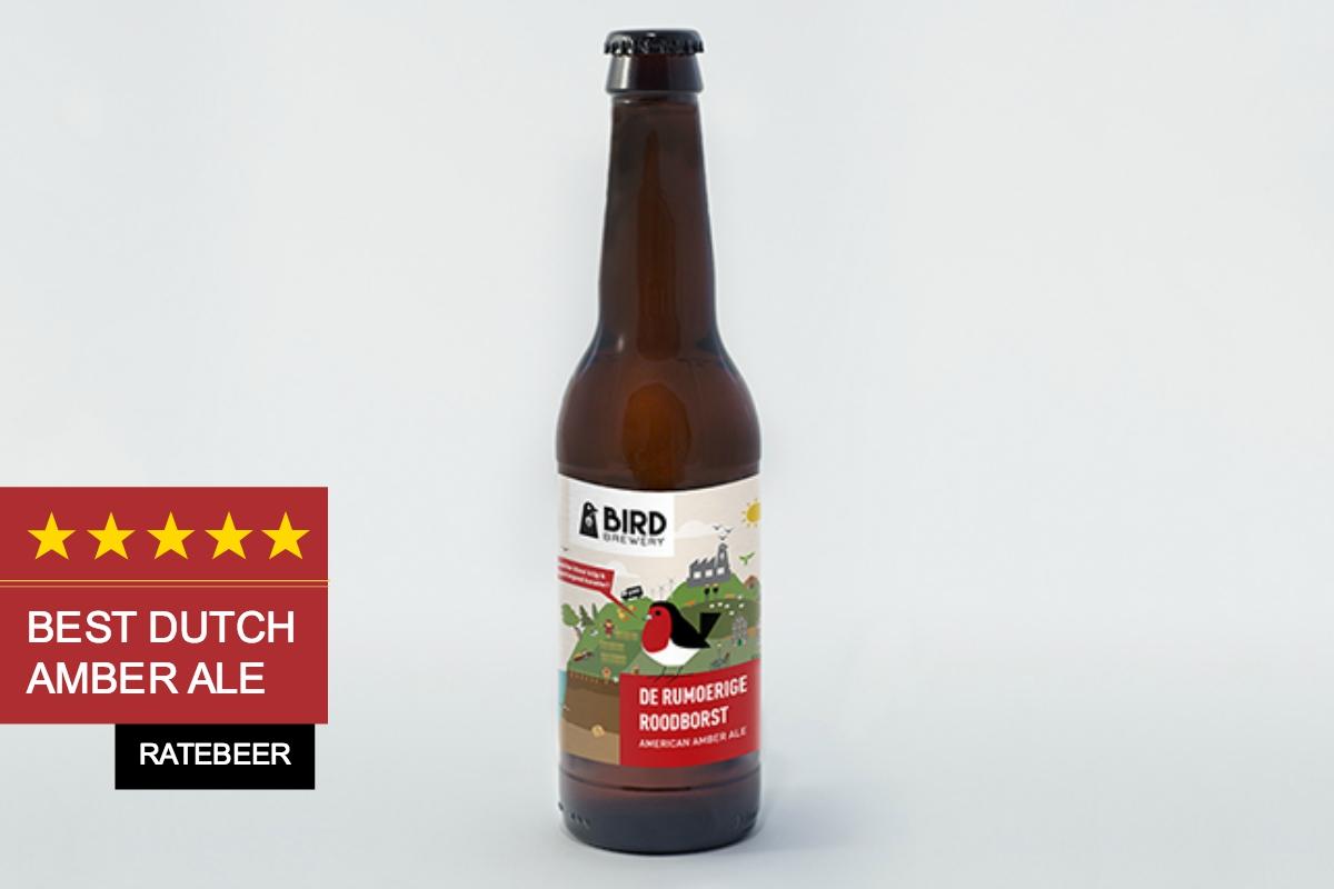 Bird brewery rumoerige roodborst american amber ale