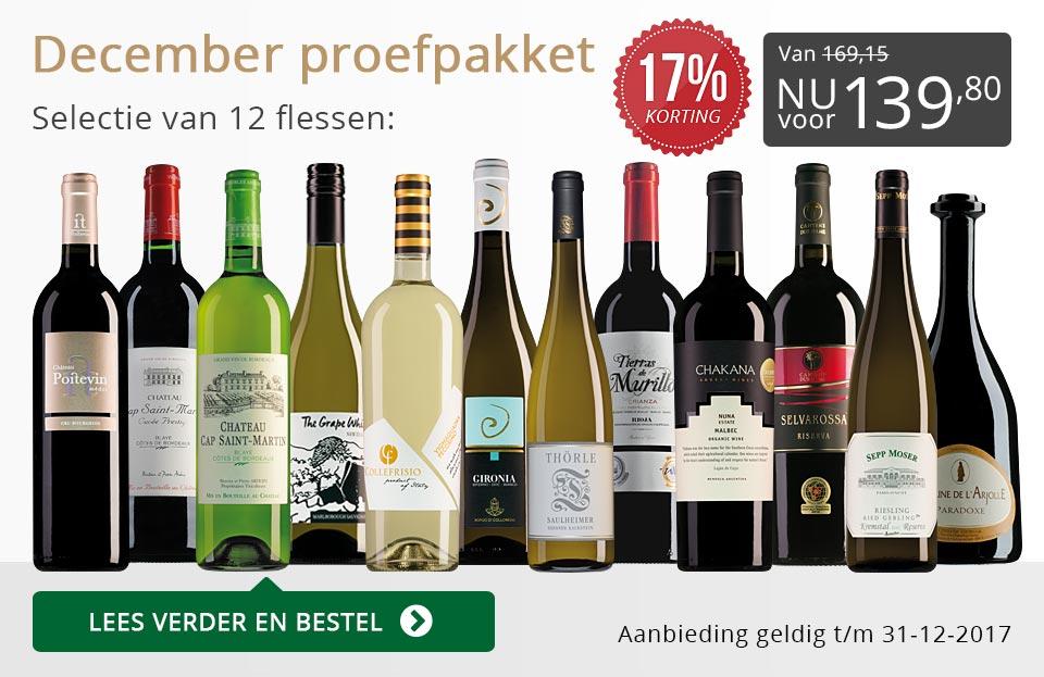 Proefpakket wijnbericht december (139,80) - grijs/goud