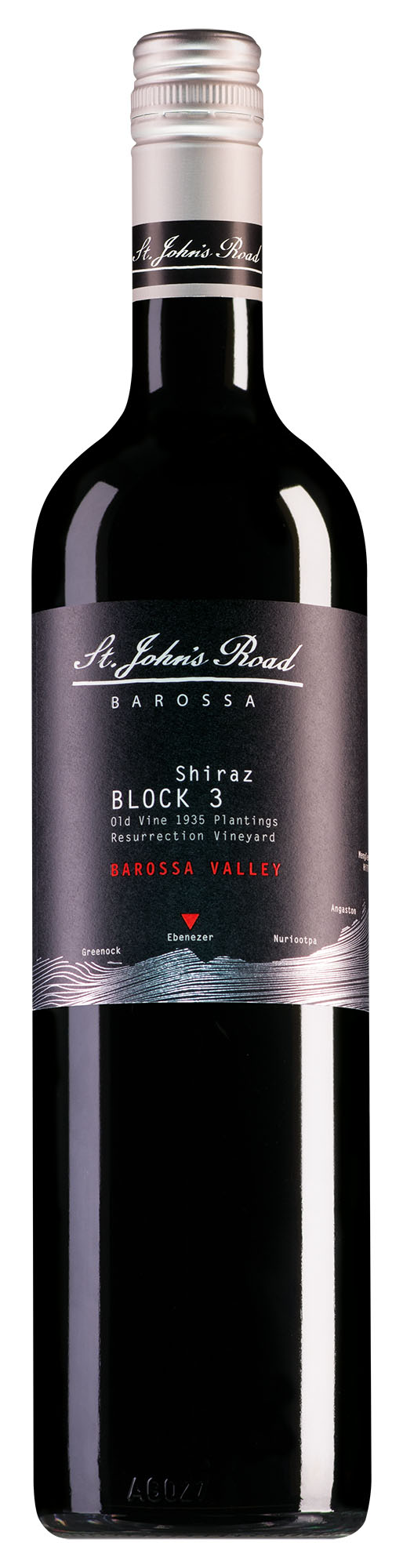 St. John's Road Barossa Valley Block 3 Shiraz