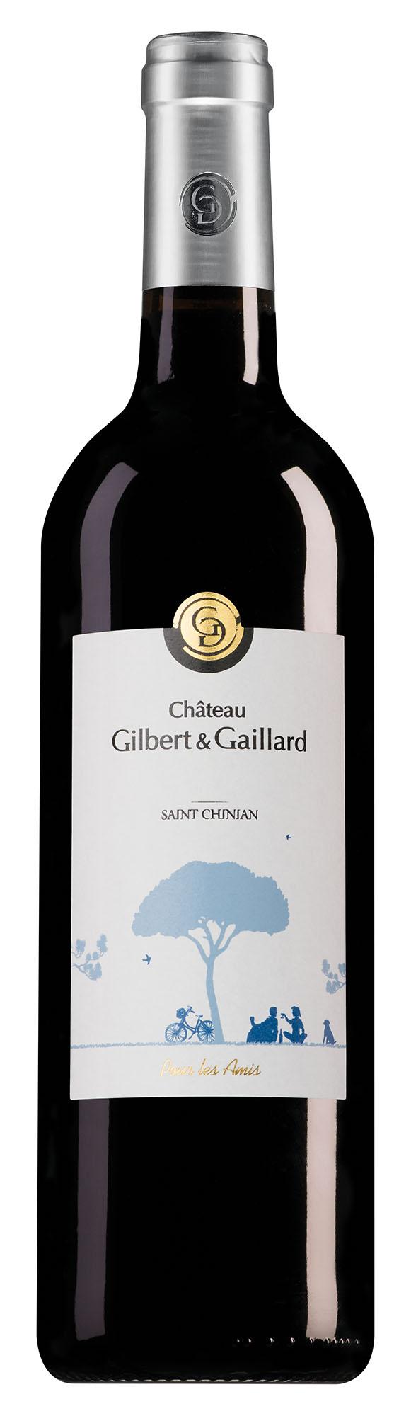 Château Gilbert et Gaillard Saint-Chinian Pour Les Amis