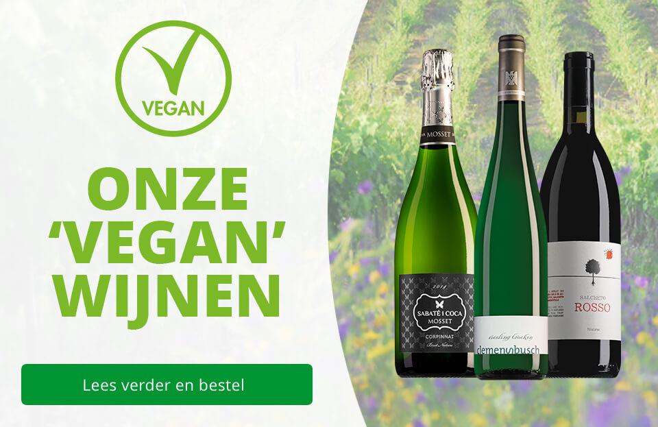 Vegan wijnen